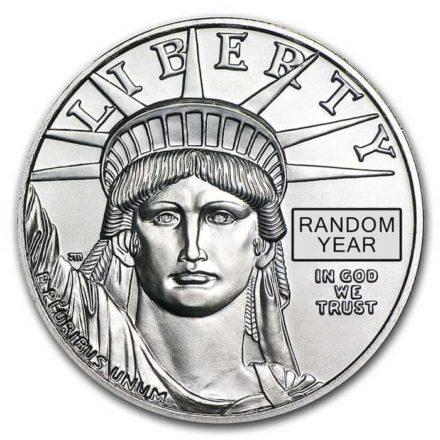 1 oz American Platinum Eagle - Random Date