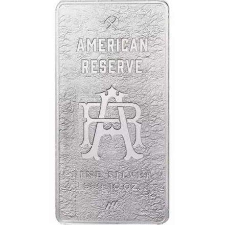 10 oz Silver Bar - American Reserve