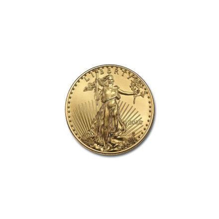 2020 American Gold Eagle 1/10 oz Coin Obverse