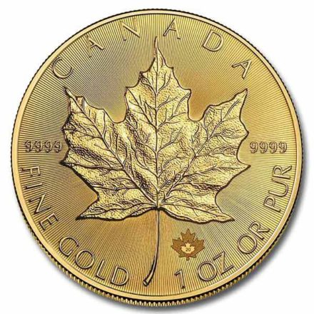 2020 Canadian Gold Maple 1 oz Coin