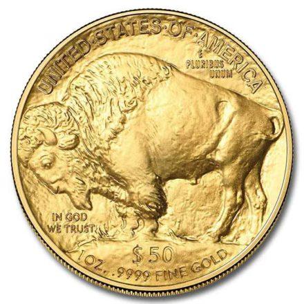 American Gold Buffalo 1 oz Coin Reverse