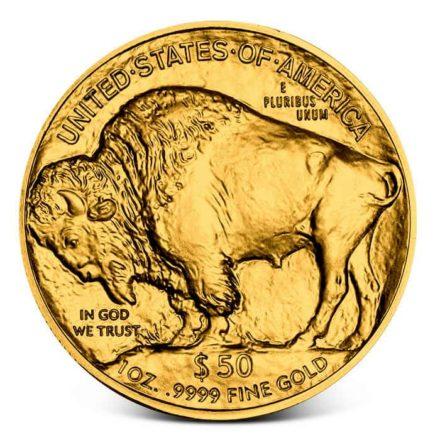 American Gold Buffalo - Random Date Reverse