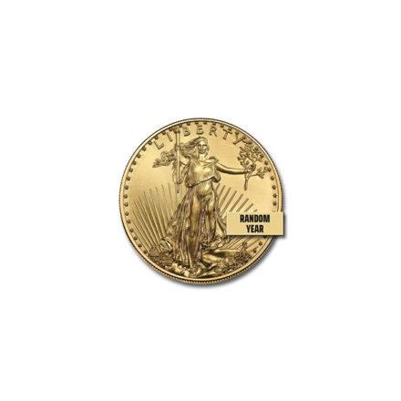 American Gold Eagle 1/10 oz Coin Obverse