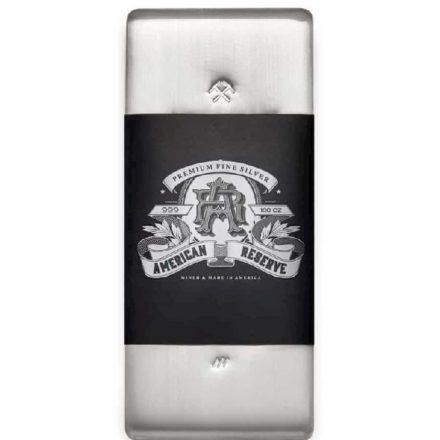 American Reserve 100 oz Silver Bars