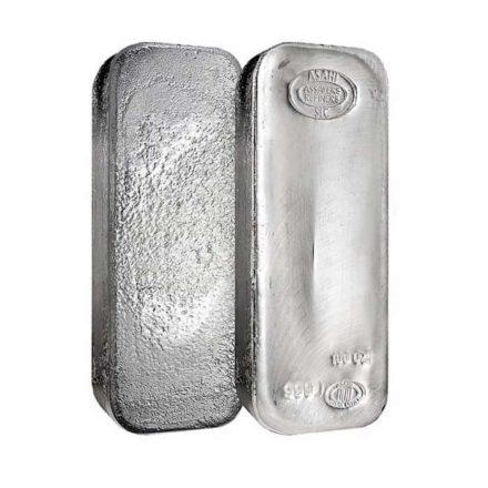 Asahi 100 oz Silver Bars