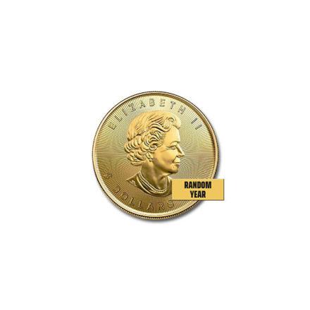 Canadian Gold Maple 1/10 oz Coin Effigy