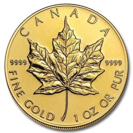 Canadian Gold Maple 1 oz Coin