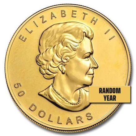 Canadian Gold Maple 1 oz Coin Effigy