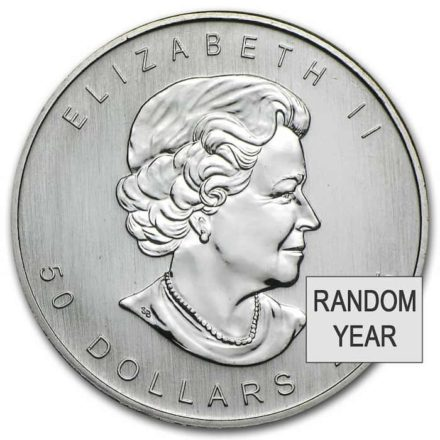 Canadian Palladium Maple 1 oz Coin - Random Date