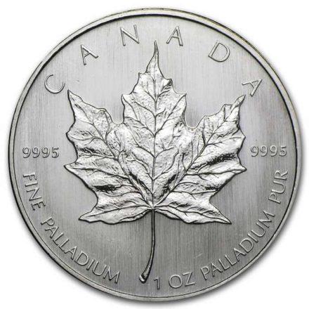 Canadian Palladium Maple 1 oz Coin - Random Date Reverse