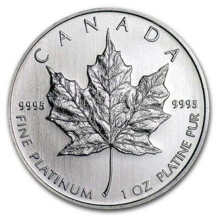 Canadian Platinum Maple 1 oz Coin - Random Date