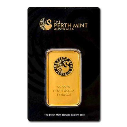 Perth Mint Gold 1 oz Bar