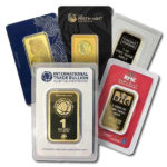 1 oz Gold Bar In Assay Card