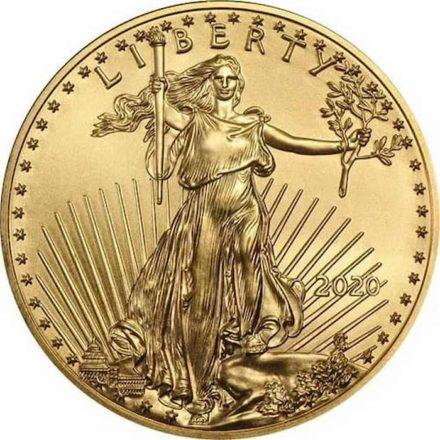 2020 American Gold Eagle 1 oz Coin