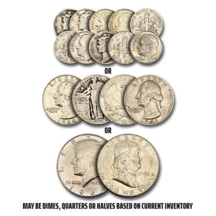 US Mint Junk 90% Silver Coins