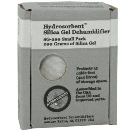 200 gram Moisture Absorbing Silica Gel for Coin Safes