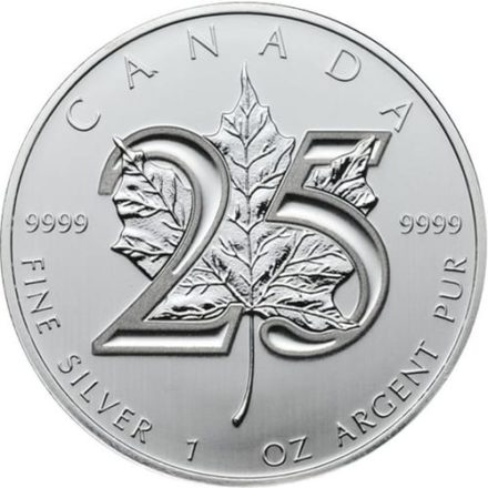 2013 25th Anniversary Canadian Silver Maple Monster Box