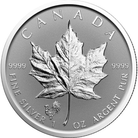 38mm Coin Capsule Silver Maple