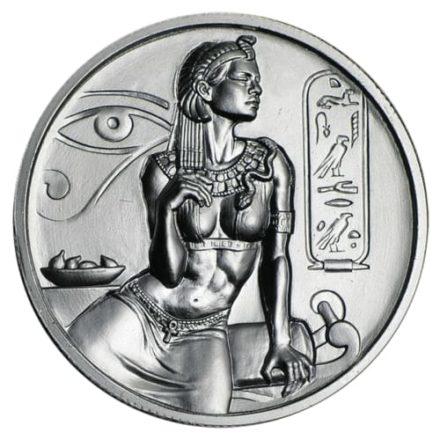 Cleopatra 2 oz Silver Round Egyptian Gods Series