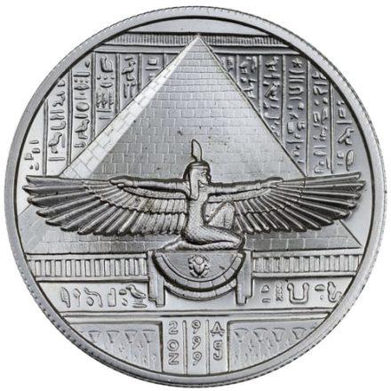 Cleopatra 2 oz UHR Silver Round Egyptian Gods Series