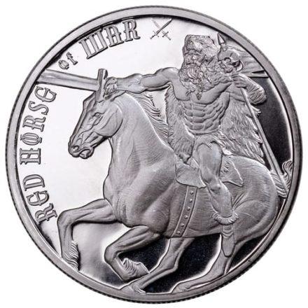 Four Horsemen War 1 oz Silver Round