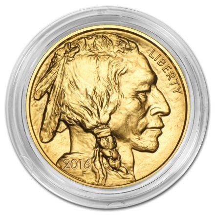 Gold Buffalo Coin Capsule