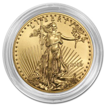 Gold Eagle Coin Capsule