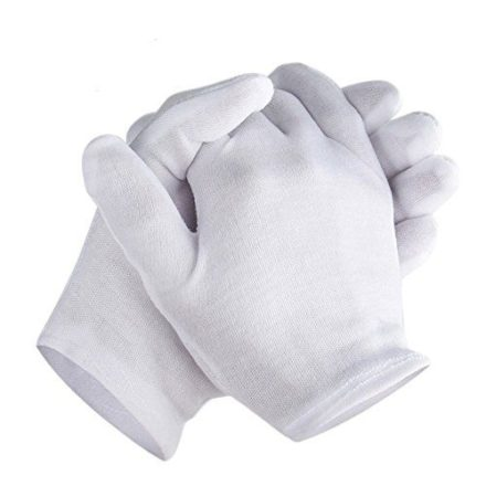 Large Cotton Gloves for Coins