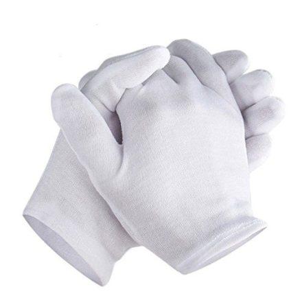 Medium Cotton Gloves for Coins