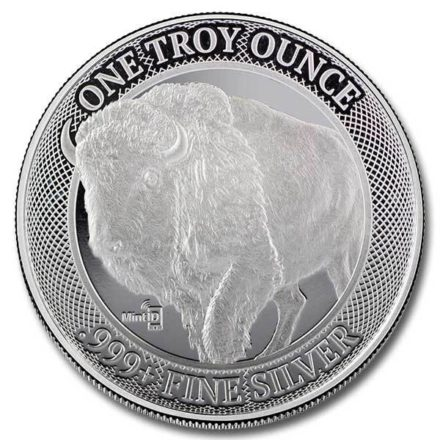 MintID Buffalo 1 oz Silver Round