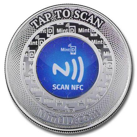 MintID Buffalo 1 oz Silver Round NFC Chip