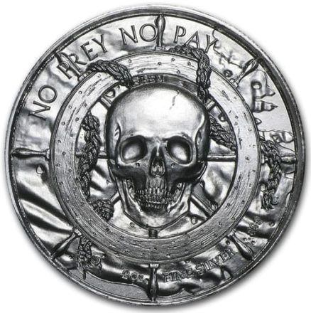 Privateer 2 oz Silver Round