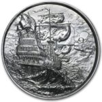 Privateer 2 oz Silver Round Ultra High Relief