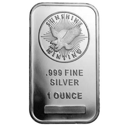 Silver 1 oz Bar Capsule