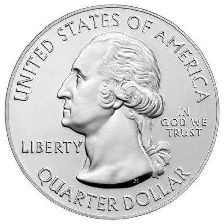 Obverse of the 5 oz Silver ATB Marsh-Billings-Rockefeller Obverse