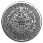 Aztec Calendar 1 oz Silver Round Obverse