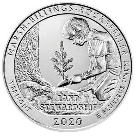 The Marsh-Billings-Rockefeller 5 oz Silver ATB Reverse
