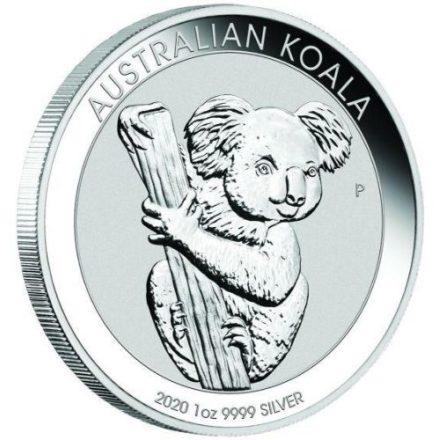 2020 1 oz Silver Koala Coin Angle