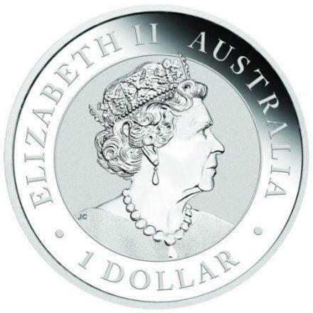 2020 1 oz Silver Koala Coin Obverse