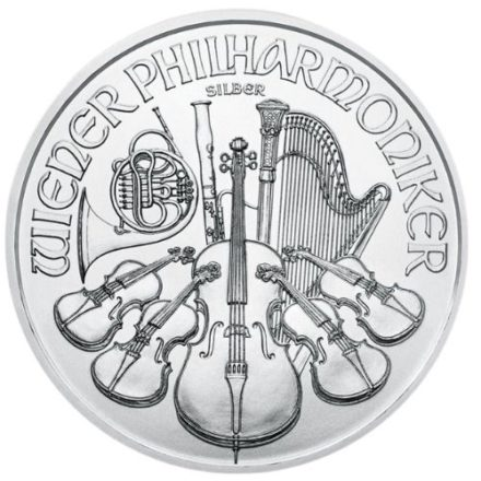2020 Austria Silver Philharmonic Reverse