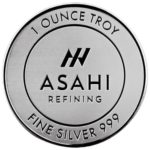 Asahi 1 oz Silver Round Obverse