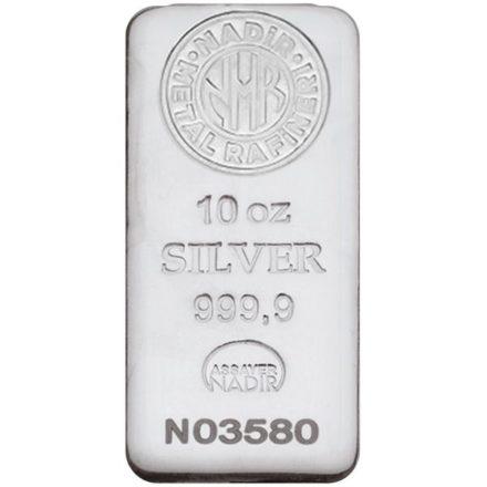 Nadir 10 oz Silver Bar