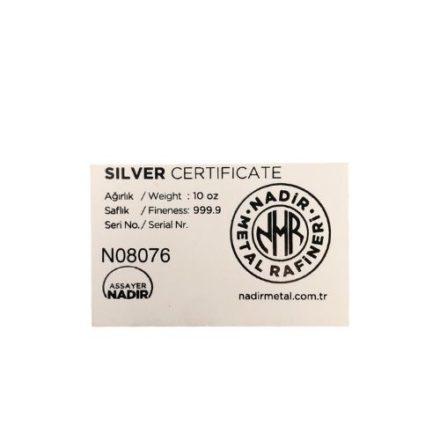 Nadir Certificate