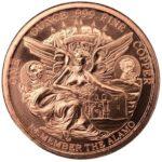 Texas Commemorative Copper Round Obverse