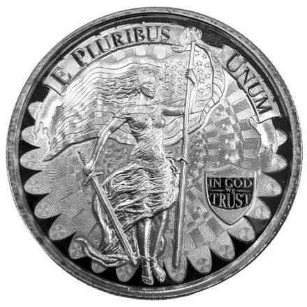 Unity & Liberty 1 oz Silver Round Obverse