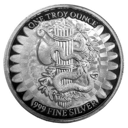 Unity & Liberty 1 oz Silver Round Reverse