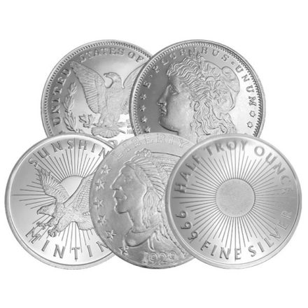 1/2 oz Silver Round - Any Mint, Any Condition