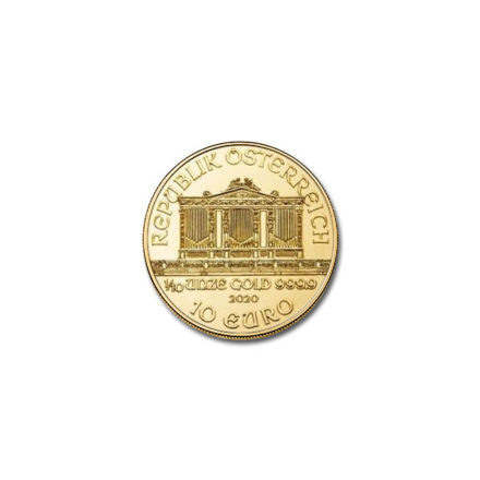 2020 1/10 oz Austrian Gold Philharmonic