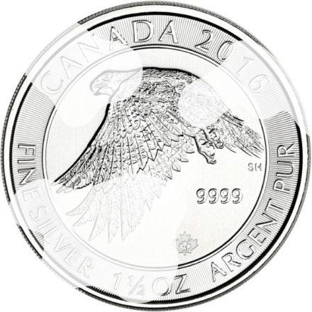 Cull 2016 1.5 oz Canadian Silver Snow Falcon Coin