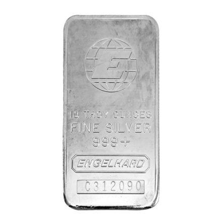 Engelhard 10 oz Silver Bar - Any Style